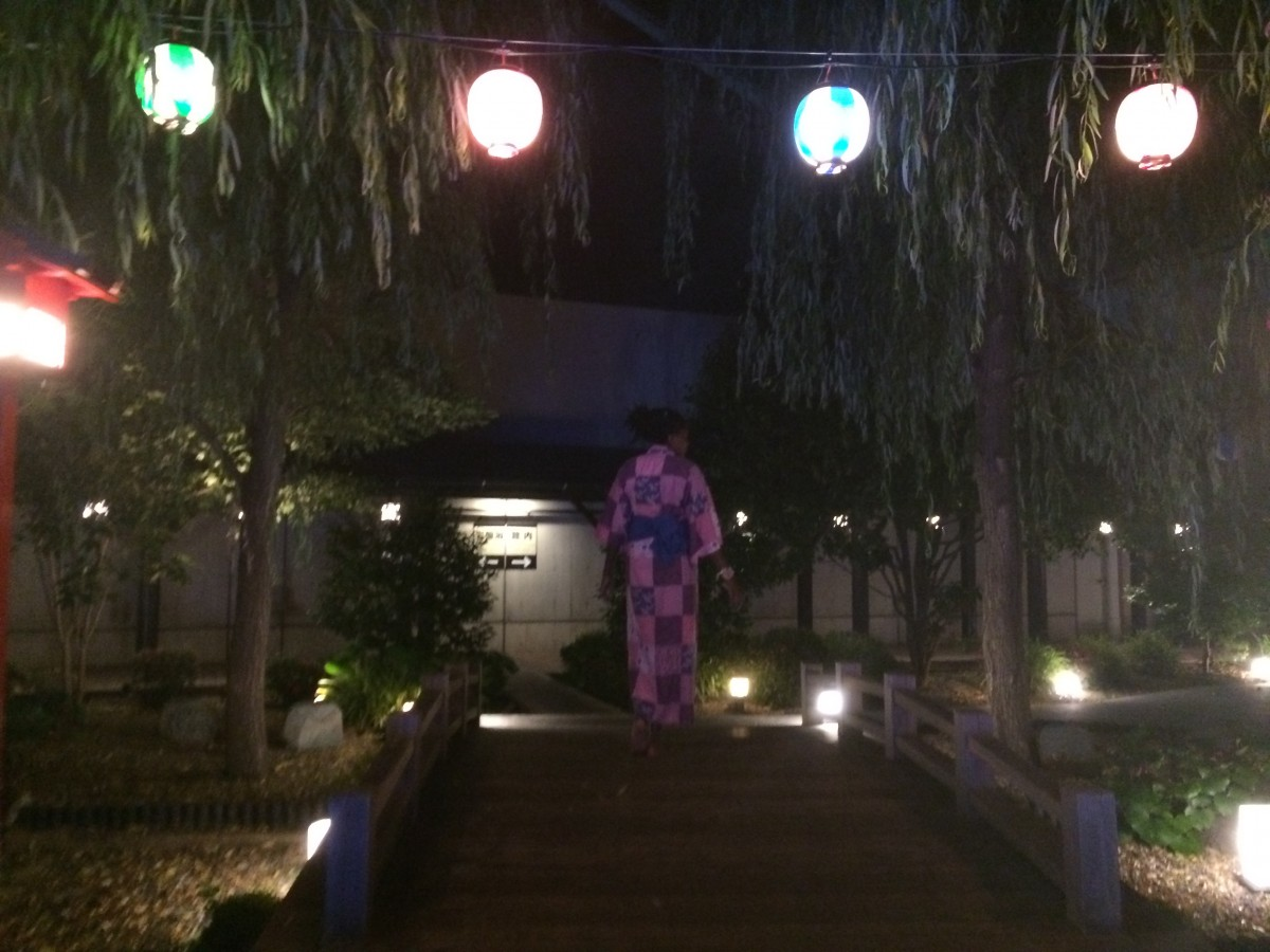 charlotte at onsen