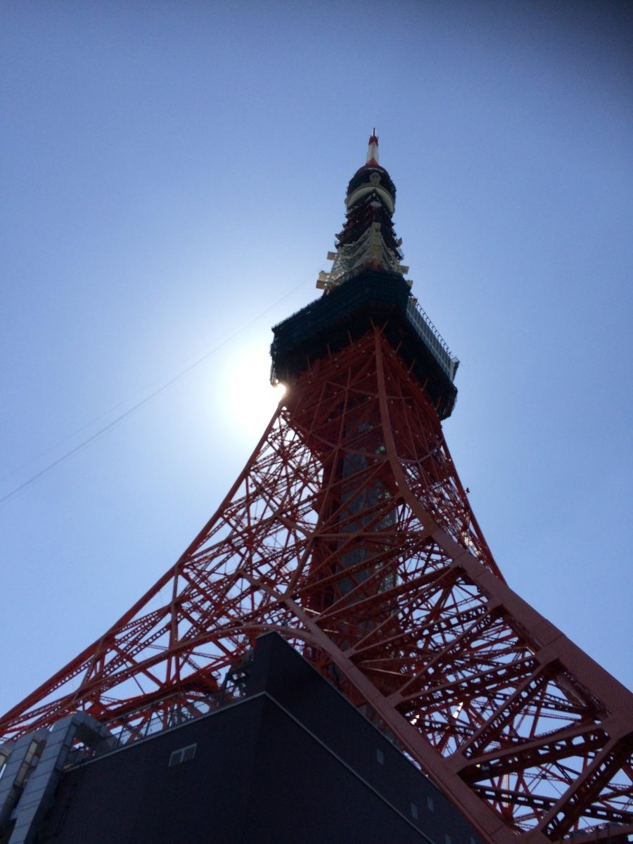 tokyo tower height
