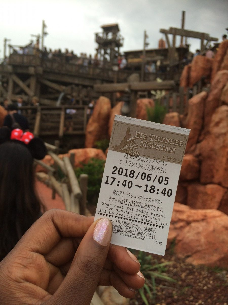 big thunder mountain fast pass